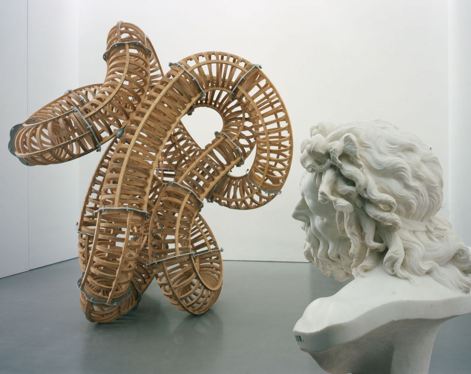 Installation view of Towards a New Laocoon 3