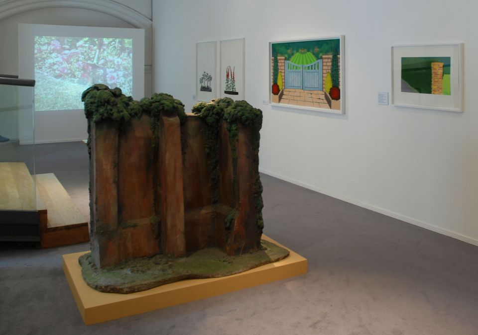 Installation view of By Leafy Ways: Early works by Ivor Abrahams 3