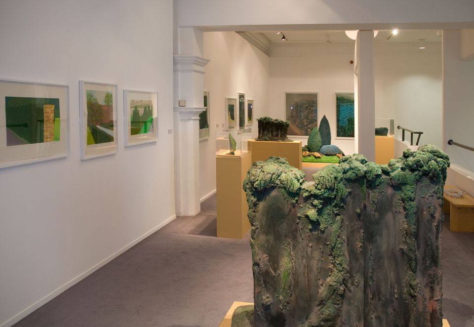 Installation view of By Leafy Ways: Early works by Ivor Abrahams 5