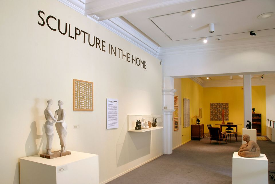 Installation view of Sculpture in the Home 1