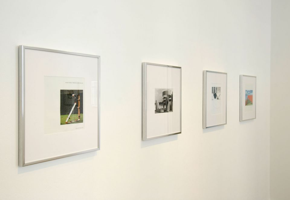 Installation view of Unfinished Business: Mark Wilsher 1