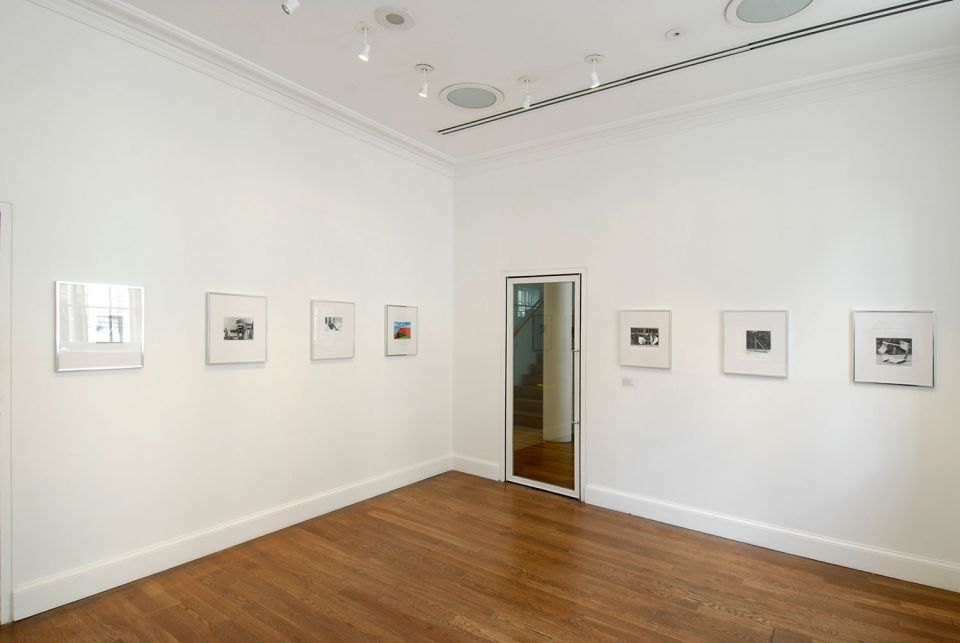 Installation view of Unfinished Business: Mark Wilsher 3