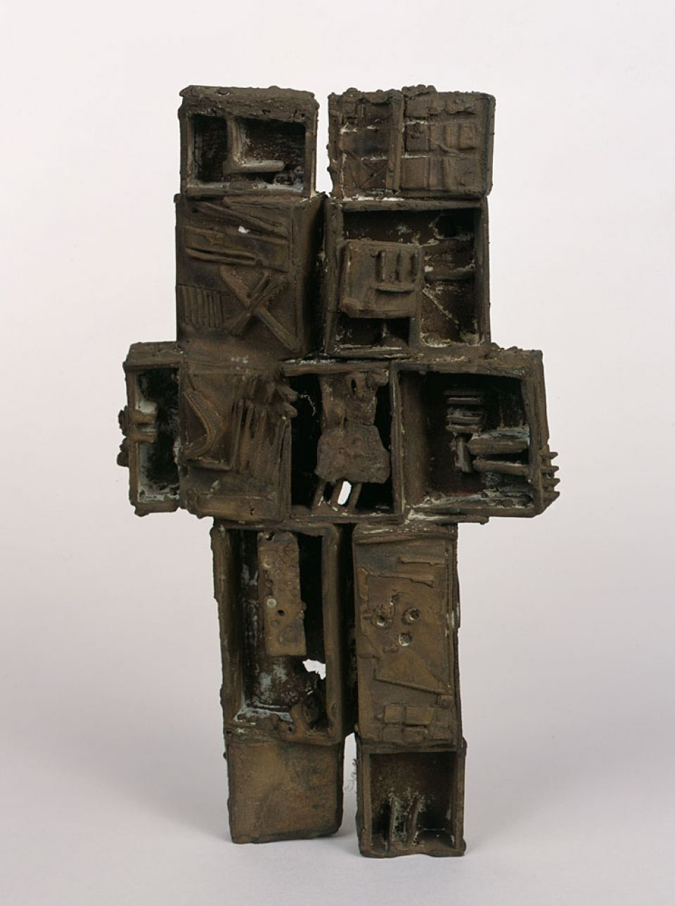 E.R. Nele, Untitled (1964, bronze)
