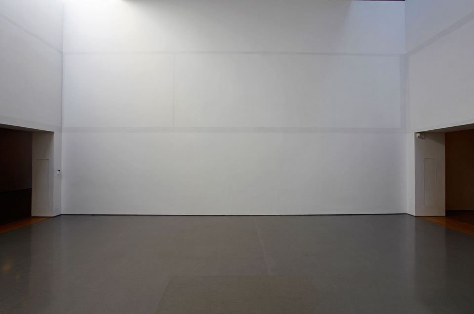 Installation view of Alan Johnston: Drawing a Shadow: No Object (7)