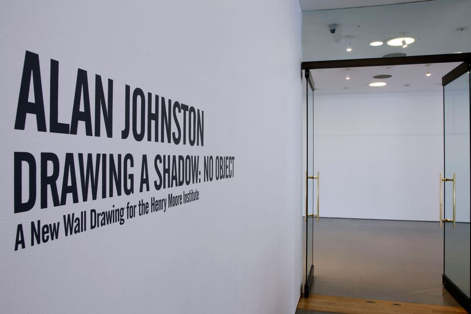 Installation view of Alan Johnston: Drawing a Shadow: No Object (9)