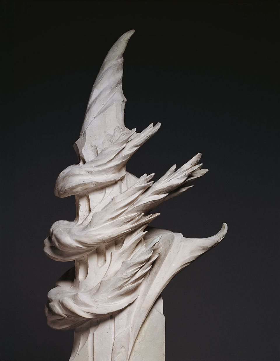 Hermann Obrist, detail of 'Bewegung' ('Movement') (1914, plaster)