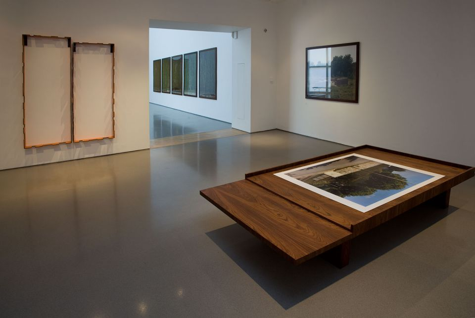 Installation view of Jean-Marc Bustamante: Dead Calm 2