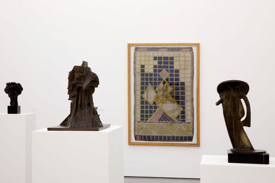 Installation view of 1913: The Shape of Time 3