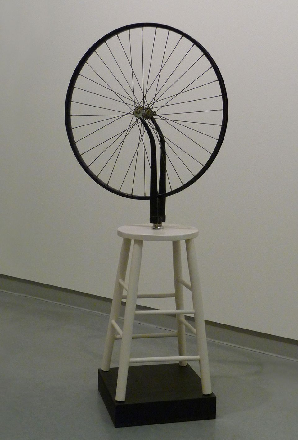 Sturtevant, 'Duchamp Bicycle Wheel' (1969-1973, bicycle wheel on wooden stool) 4