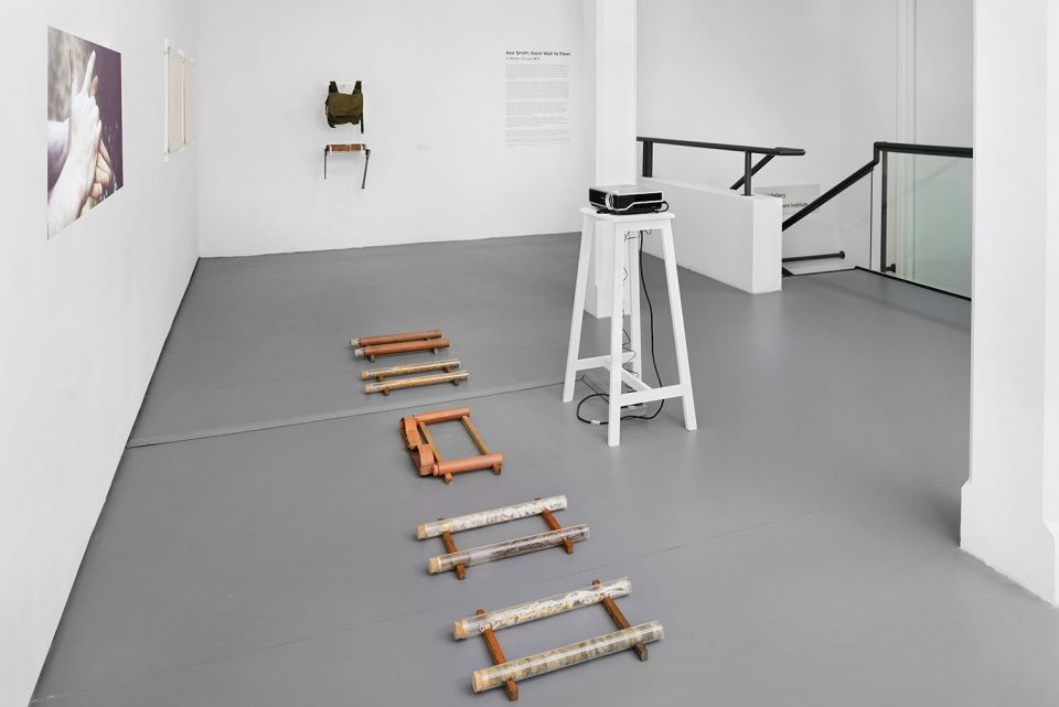 Installation view of Keir Smith: From Wall to Floor 1