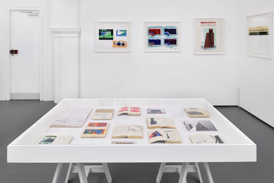 Installation view of Keir Smith: From Wall to Floor 2
