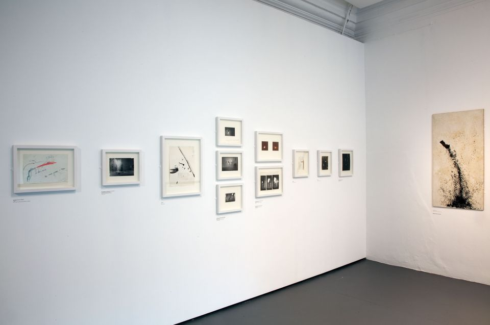 Installation view of Stephen Cripps: Pyrotechnic Sculptor (4)