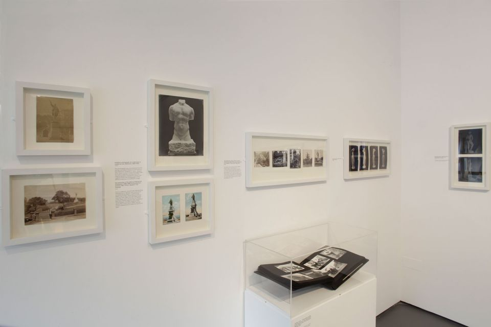 Installation view of Photographing Sculpture: How the Image Moves the Object 2