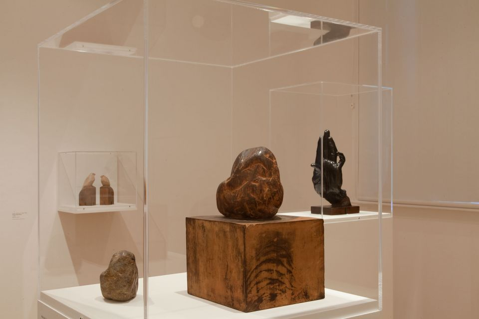 Installation view of A Study of Modern Japanese Sculpture (1)