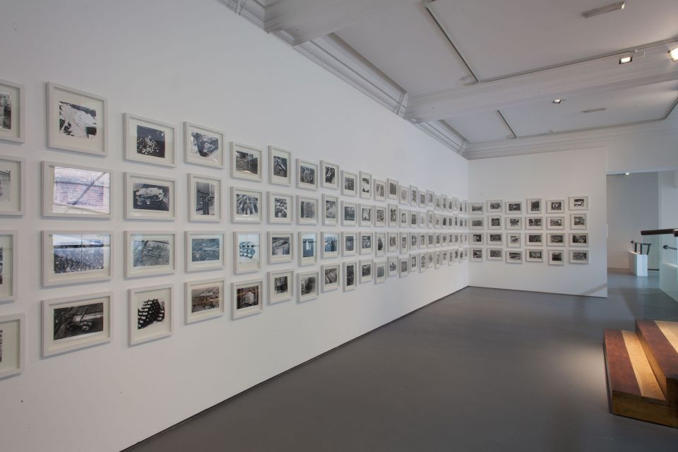 Installation view of Garth Evans: Sculpture Photographs 2