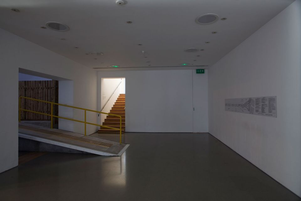 Installation view of Katrina Palmer: The Necropolitan Line (3)