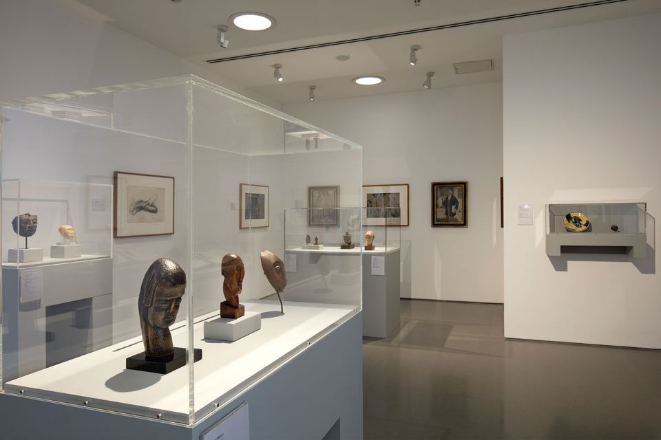 Installation view of Becoming Henry Moore (G1 2)
