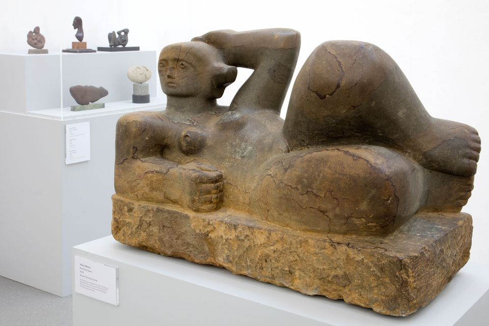 Installation view of Becoming Henry Moore (G2 3)