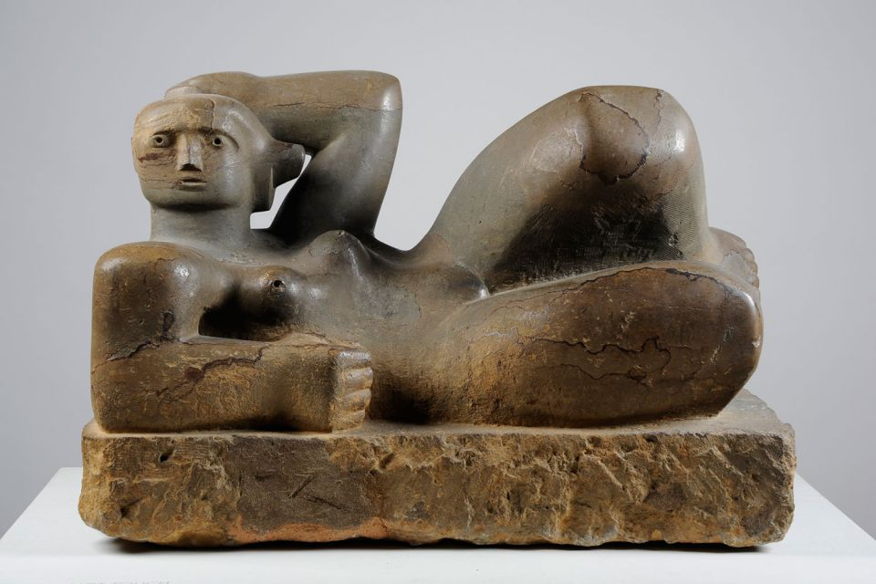 Henry Moore, 'Reclining Figure' (1929)