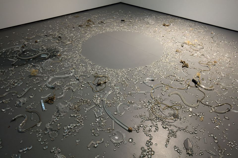 Installation view of Lucia Nogueira 2