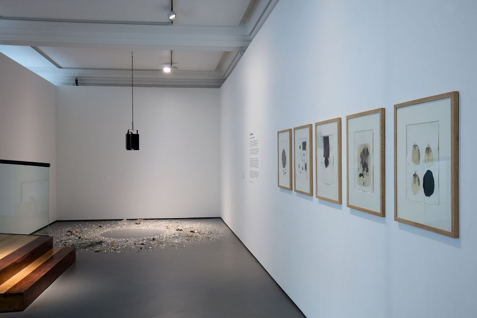 Installation view of Lucia Nogueira 4