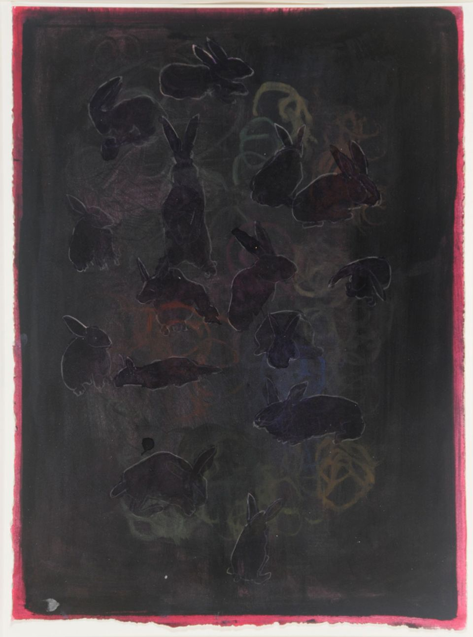 Lucia Nogueira Untitled 1989-92 (rabbits dark)