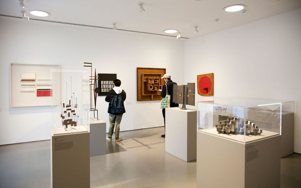 Installation view of The Sculpture Collections 5