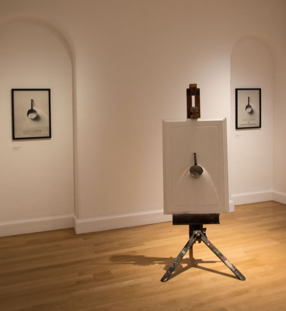 Installation view of Sculpture by Another Name: Tony Carter's 'By Bread Only' (1978-9)