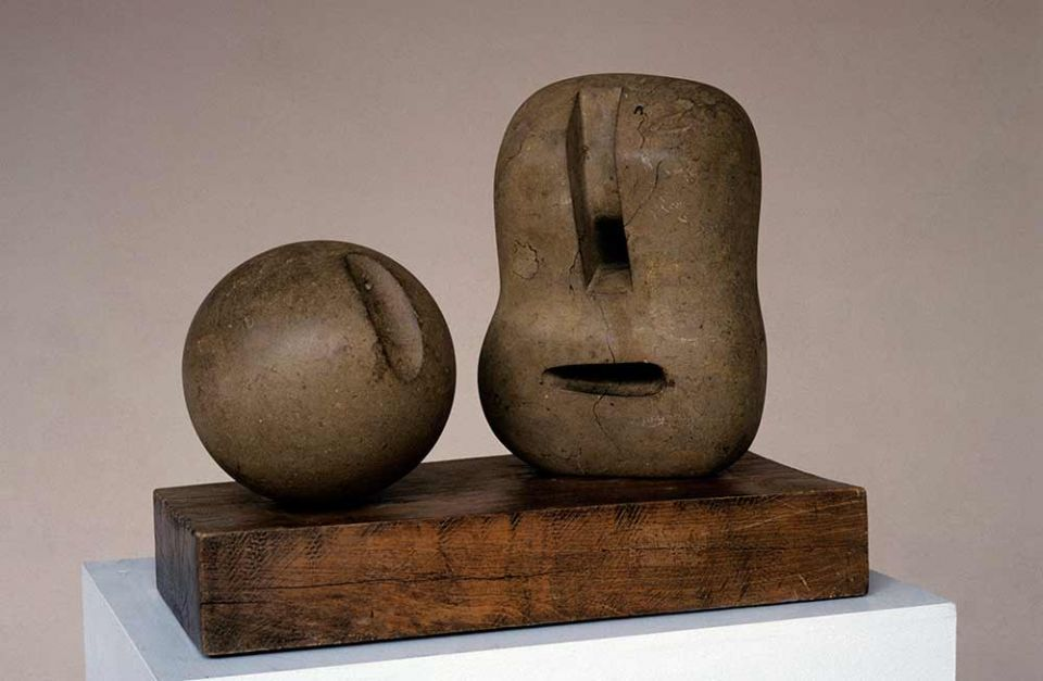 Henry Moore, 'Two Forms' 1936