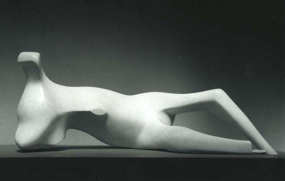 Henry Moore, 'Thin Reclining Figure' 1979-80
