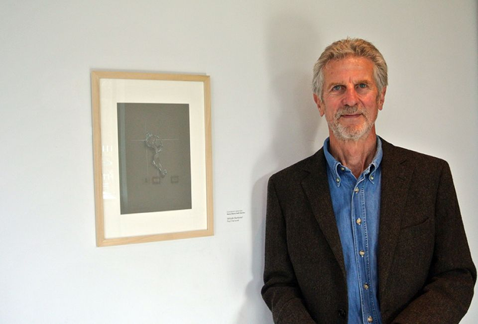 Paul Harwood, our Honorable Mention (Staff Category) with his work 'Still Life (Seahorse)'