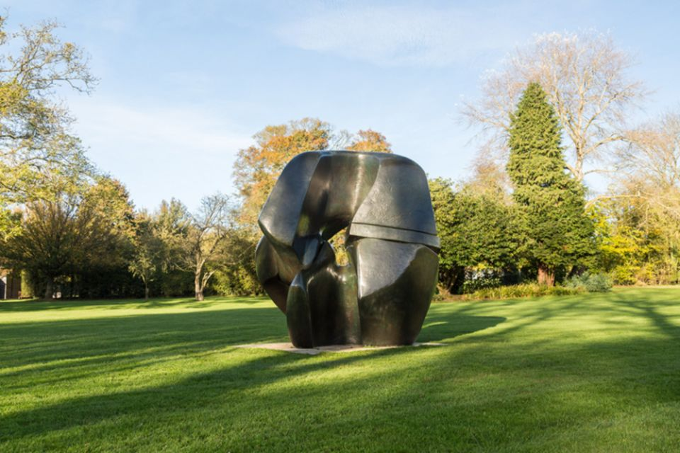 Henry Moore, 'Locking Piece' 1962-63 cast 1963
