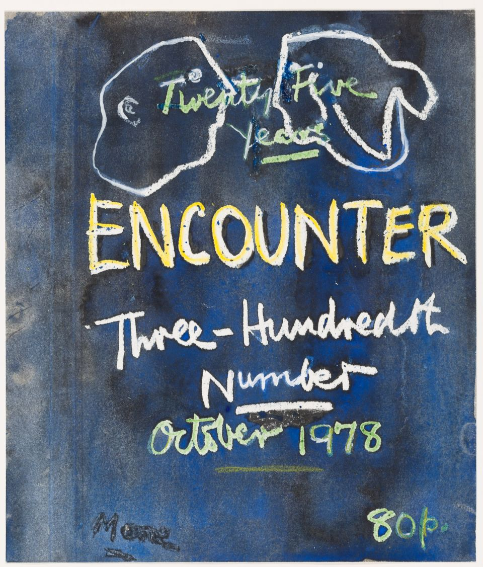 <i>Study for Cover Design: 'Encounter'</i>, 1978