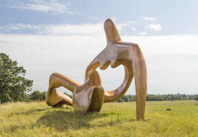 Large Reclining Figure