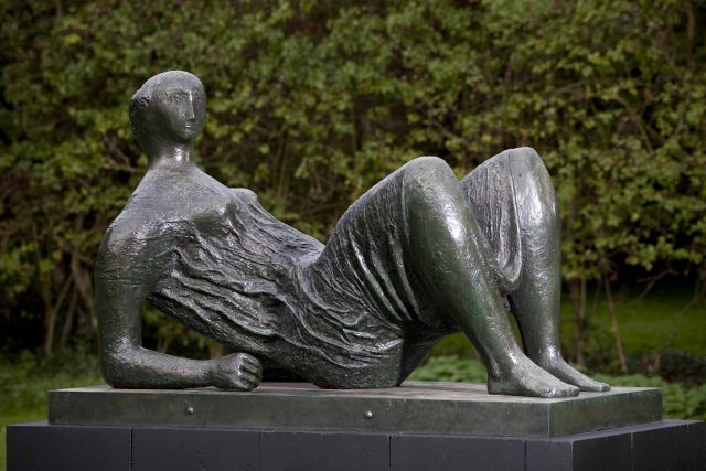 Draped Reclining Figure
