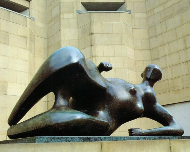 Reclining Woman: Elbow