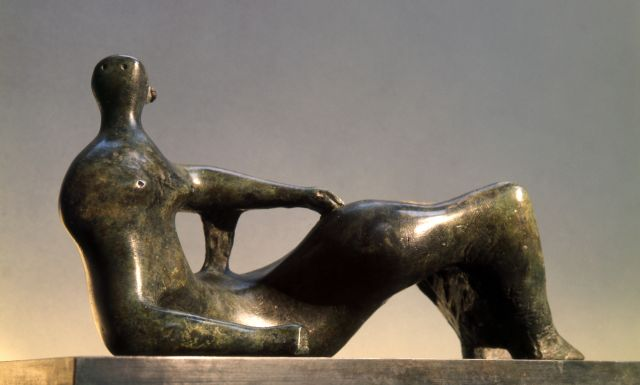 Maquette for Reclining Figure: Prop