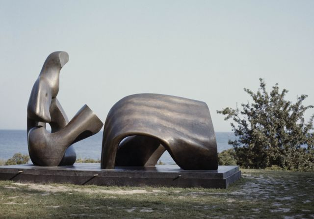 Three Piece Reclining Figure: Draped