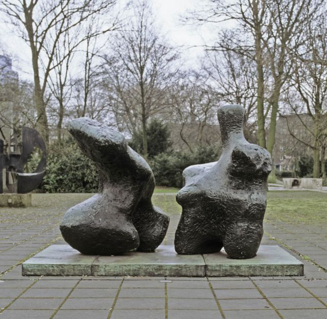Two Piece Reclining Figure No.1