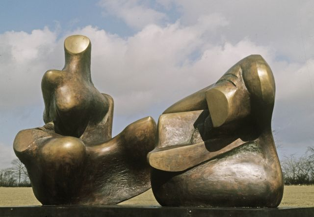 Two Piece Reclining Figure: Points