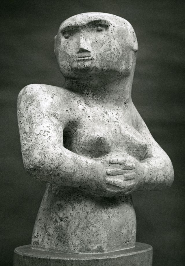 Figure with Clasped Hands