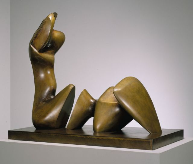 Working Model for Two Piece Reclining Figure: Cut