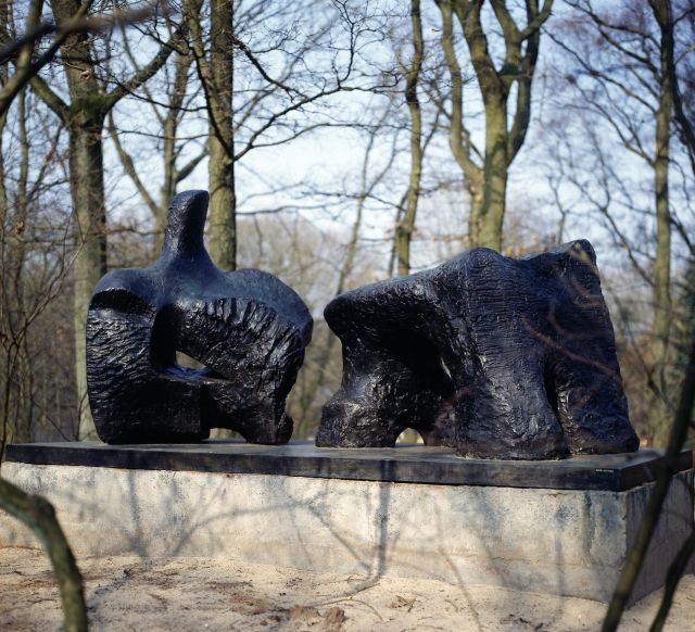 Two Piece Reclining Figure No.2