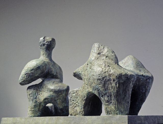 Two Piece Reclining Figure No.4