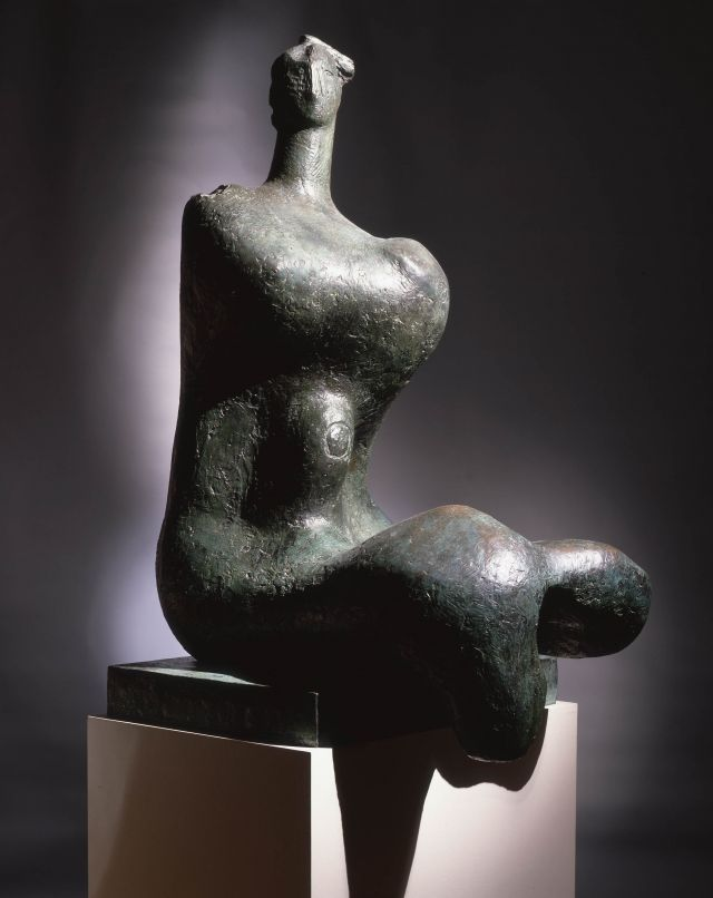 Woman (Seated Torso-Parze)