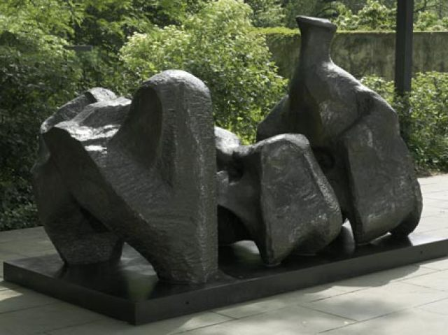 Three Piece Reclining Figure No.1