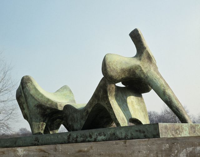 Three Piece Reclining Figure No.2: Bridge Prop