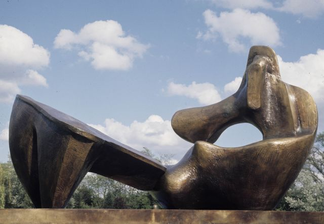 Two Piece Reclining Figure No.9