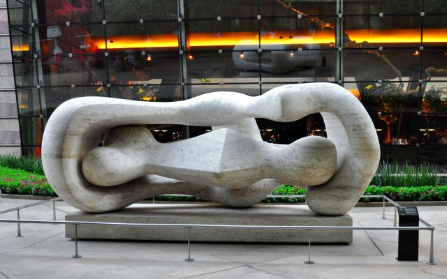 Large Reclining Connected Forms