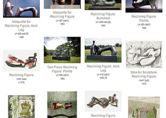 Search<br>Henry Moore<br>artworks